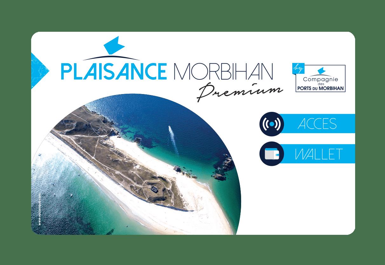 Plaisance Morbihan, carte fidélité Compagnie des ports du Morbihan